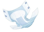 Incontinent Briefs Quilted -LARGE - Covidien DAY/Night Wings™ Choice Plus Max Absorbency  (72/cs)