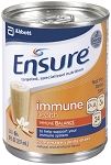ENSURE Strawberry SUPPLEMENT IMMUNE HEALTH  8OZ CAN  || (Case of 24)