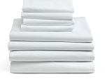 Interblend Percale FLAT Sheets SHEET, FLAT, 66X104, PERCALE (EA)