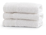 Hand Towels  16X30 White 100% Cotton, Reusable 1DZ
