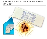 Wireless Patient Alarm Bed/Chair Pressure Pad Sensor, 20