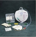 Indwelling Catheter Tray Bardex® I.C. PLUS Foley 18 Fr. 5 cc Balloon Latex