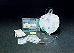 Indwelling Catheter Tray Lubricath® Foley 18 Fr. 5 cc Balloon Latex