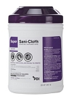 PDI Healthcare Surface Disinfectant  Sani-Cloth® Premoistened Germicidal Wipe 160/Can 12cans/case
