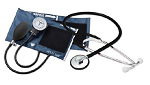 Aneroid Sphygmomanometer Combo Kit For Nurses Adult Size Nylon Cuff 21 Inch with Bag