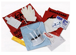 Blood Spill Kit BioBloc SPILL KIT, BLD/BODY FL (6/cs) KENDAL