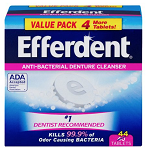 Denture Cleaner Efferdent® Tablet EFFERDENT, TAB CLEANER (44/BX)