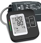 Blood Pressure Monitor for Upper Arm, LOVIA Accurate Automatic Digital BP Machine  with Cuff 22-40cm, 2×120 Sets Memory