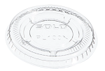 LID  PL100N Polystyrene Clear - Fits 0.5-1.25 oz Portion Container cup (Case of 2500), Small